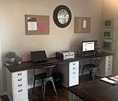 Office Desks For Home The 25 Best Two Person Desk Ideas On Pinterest 2 Person Desk In 2