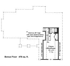 Micro Floor Plans by Craftsman Style House Plan 3 Beds 2 00 Baths 1724 Sq Ft Plan 51 521