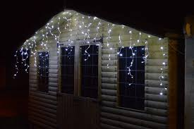 snowing icicle outdoor lights 4 4m premier 180 led outdoor snowing icicle christmas lights cool