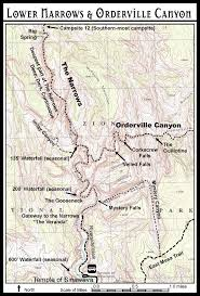 Utah National Park Map by Mystery Canyon Zion National Park
