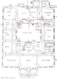 Old English Tudor House Plans Facade And Floor Plan Of House On Grosvenor Square Some Are