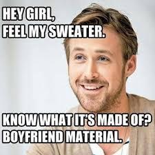 Man Meme - hey girl how ryan gosling became the real life feminist man of