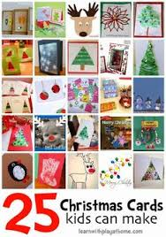 simple bubblewrap christmas cards made by kids christmas cards