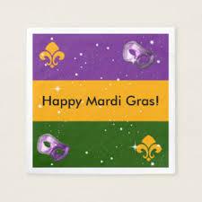 mardi gras napkins fleur de lis mardi gras napkins zazzle