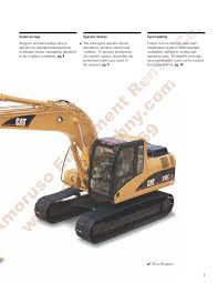 cat 318cln track 130ph 43 320lb