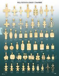 religious charms 14k gold cross w padre nuestro religious charm pendant p25 1