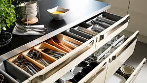 Small Space Small Country Kitchen IKEA - Ikea kitchen cabinet organizers