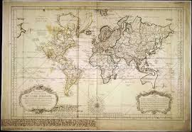 Large Vintage World Map by Historic World Map Wallpaper Wall Mural Wallsauce Canada