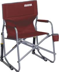 Gci Outdoor Pico Arm Chair Rocking Camp Chair With Shocks Home Chair Decoration