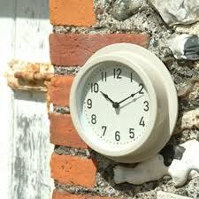 Garden Wall Clocks by Metal Wall Clock Clay
