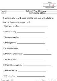 primaryleap co uk capital letters 1 worksheet
