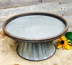 galvanized cake stand the meaningful details galvanized