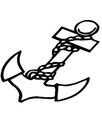 marine anchor coloring pages bulk color