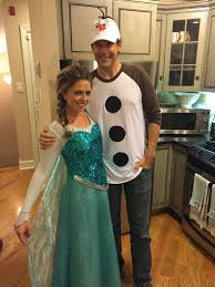 olaf costume the only couples costume my boyfriend would agree to elsa and