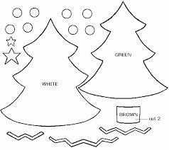 christmas tree ornament templates mathmarkstrainones