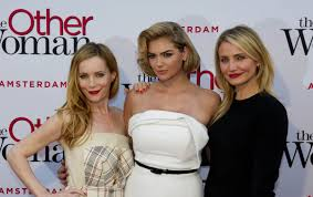 cameron diaz hair cut inthe other woman kate upton cameron diaz and leslie mann at the other woman