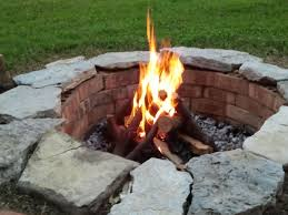 Easy Fire Pits by My Homemade Fire Pit Cost 0 00 Simple And Made From