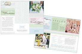 simple wedding planner wedding planner brochure the wedding specialiststhe wedding