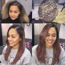 one inch hair styles best 25 sew in hairstyles ideas on pinterest sew in weave