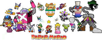 paper mario cast characters seltraehthedarkone deviantart