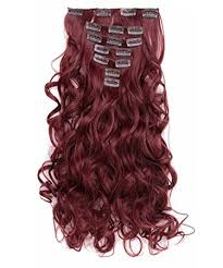 in hair extensions onedor 20 curly clip in synthetic hair