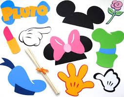 mickey mouse photo booth props 10 photo booth prop mickey mouse disney by thebrunettemixer