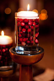Wedding Centerpieces Floating Candles And Flowers by Best 25 Cranberry Centerpiece Ideas On Pinterest November 1st
