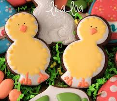 How To Make Decorated Easter Chick Cookies