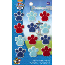wilton paw patrol cake cupcake cookie icing decorations assorted