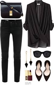 Ideas For Black Best 25 All Black Style Ideas On Total Black All