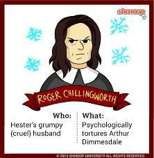 roger chillingworth in the scarlet letter
