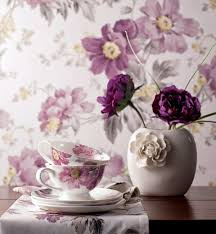 Interior Design With Flowers Fabric And Wallpaper With Floral Design U2013 Great Interior Ideas For
