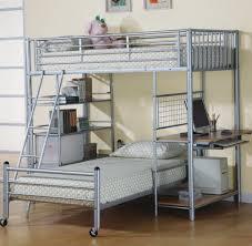 Bunk Bed Futon Desk Bunk Bed With Futon And Desk Home Design Ideas