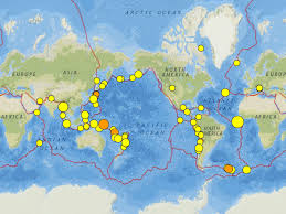Iceland World Map Mid Atlantic Iceland And Wyoming Earthquakes 25 31 August 2016