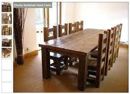 chunky oak dining room tables best table ideas on breakfast wooden