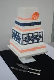 25 best navy blue square wedding cakes ideas on pinterest blue