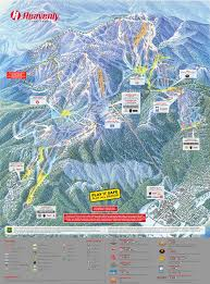 Utah Ski Resort Map by Mt Bachelor Ski Resort Mt Bachelor Trail Map Skiing