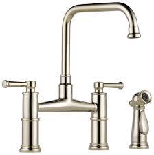 decorative accents kitchen base cabinets with feet ws bath 62525lfpn brizo two handle bridge kitchen faucet