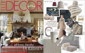 knit home decor brett design inc interior design home decor elle decor dec 2014