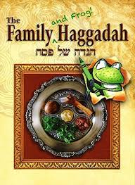 family haggadah the family and frog haggadah by ronald h isaacs