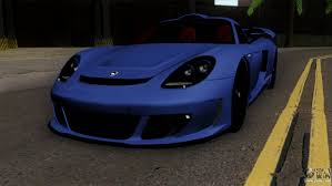 gemballa mirage 911 gemballa mirage gt v1 windows up for gta san andreas