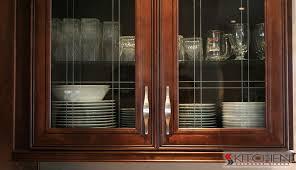 Wood Cabinet Glass Doors Kitchen Cabinet Glass Door Inserts Home Ideas