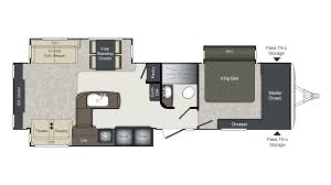 Salem Travel Trailer Floor Plans by 2017 Keystone Laredo 334re Model