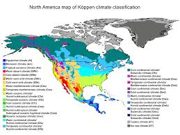North America Climate Map by United States Biome Map Tims Printables Drought And New Deserts