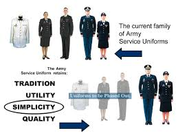 army com army streamlines service uniforms