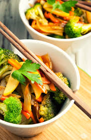 Main Dish Vegetables - apple and vegetable stir fry paleo leap