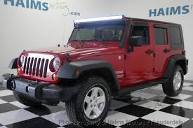 2010 used jeep wrangler 2010 used jeep wrangler unlimited 4wd 4dr sport at haims motors