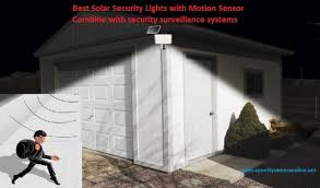 best solar lighting system best solar security lights with motion sensor securitycameraonline net
