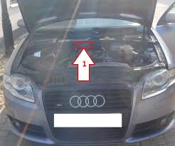 audi a4 vin audi a4 2001 2005 where is vin number find chassis number