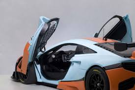 orange mclaren highly detailed autoart diecast model blue and orange mclaren 12c